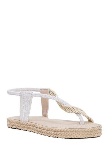 Sole Sisters Sandalet Beyaz